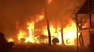"""Morrison lobt Brandbekämpfung: """"Aufwand und Koordination außergewöhnlich"""""""