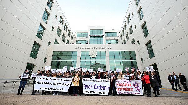 Ceren Özdemir'in katil zanlısı Özgür Arduç'un yargılandığı davada duruşma 20 Ocak 2020'ye ertelendi
