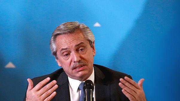 Arjantin'de Devlet Başkanı Alberto Fernandez