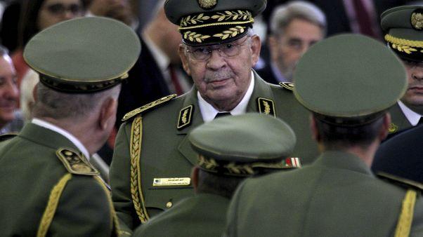 قائد أركان الجيش الجزائري احمد قايد صالح