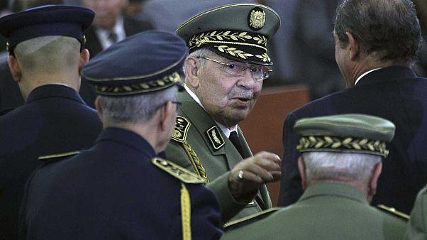 Le général Ahmed Gaïd Salah à Alger, le 19 décembre 2019