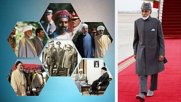 نیم قرن روابط گرم سلطان قابوس و ایران؛ از کمک محمدرضا شاه تا تمجید خامنهای