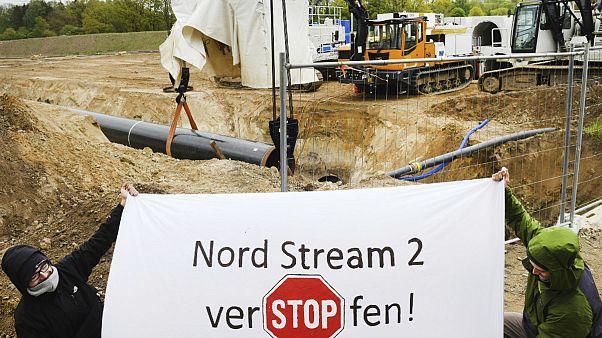 آلمان و روسیه: با وجود تحریمهای آمریکا «نورداستریم ۲» تکمیل خواهد شد