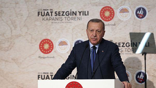 Cumhurbaşkanı Erdoğan: Kanal İstanbul için daha şimdiden müteahhitlere tehdit savuruyorlar