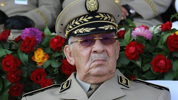 قائد الجيش الجزائري أحمد قايد صالح