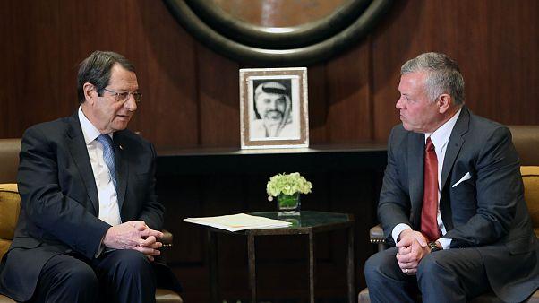 Τηλεφωνική επικοινωνία Προέδρου Αναστασιάδη με Βασιλιά της Ιορδανίας