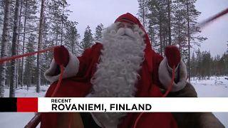 شاهد: سانتا كلاوس يبدأ تحضيراته لعيد الميلاد في فنلندا المثلجة