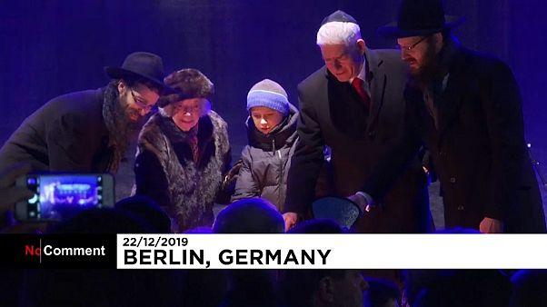 افتتاح جشنواره نور توسط یهودیان آلمان