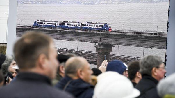 UE condena ligação ferroviária entre Rússia e Crimeia