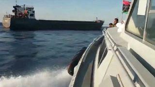 Hafter'e bağlı güçler, haftasonu el koydukları Grenada bandıralı gemiyi serbest bıraktı