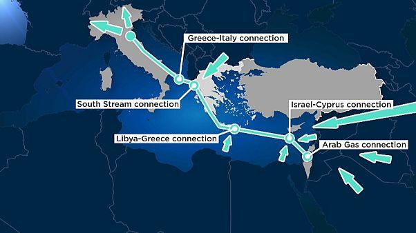 Греция и Кипр спешат с газопроводом