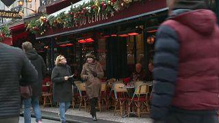 Парижские бизнесмены несут убытки из-за протестов