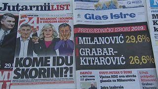 Хорваты готовятся ко второму туру выборов