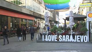Turismo dispara em Sarajevo