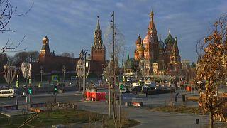 Аномально тёплый декабрь в Москве