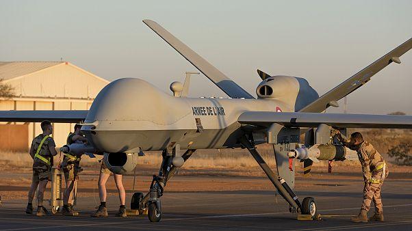 Fransa, Mali'de ilk kez silahlı drone kullandı: 7 cihatçı militan öldürüldü