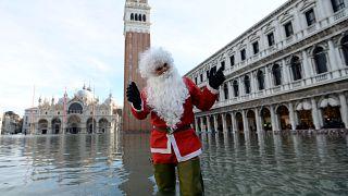 شاهد: مدينة البندقية تواجه خطر الفيضانات مجددا