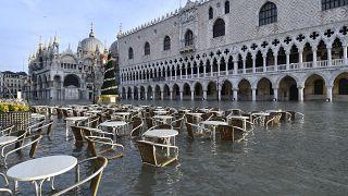 Πλημμύρες και πάλι στην Βενετία
