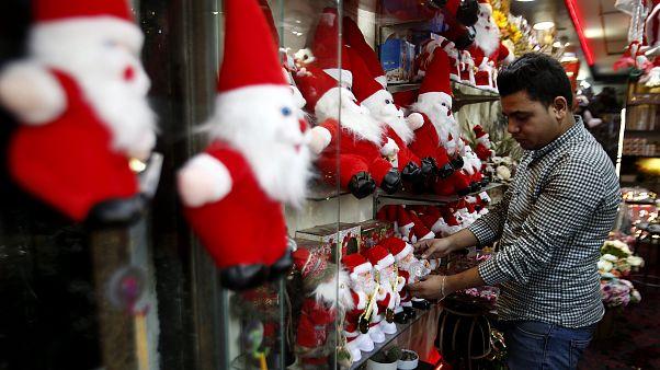 التصاريح الإسرائيلية تنغص فرحة عيد الميلاد في قطاع غزة