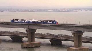 La nueva vía ferroviaria Rusia-Crimea abre una nueva brecha con Ucrania y la UE