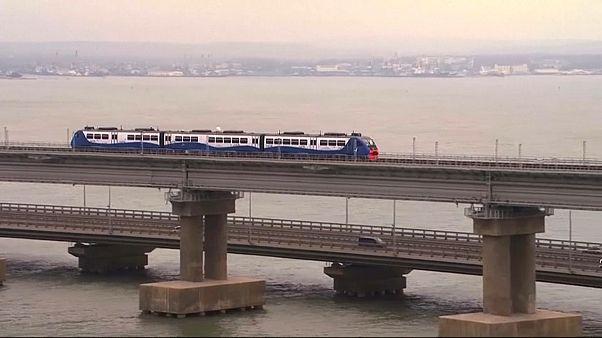 EU und Ukraine kritisieren Freigabe des Bahnverkehrs auf Kertschbrücke