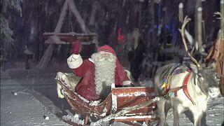 Papá Noel sale de Laponia rumbo a todos los hogares del mundo