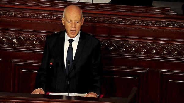 Tunus Cumhurbaşkanı Libyalı temsilcilerle ülkedeki krizi görüştü