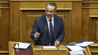 Yunanistan Maliye Bakanı Christos Staikouras