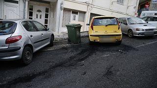 Στόχος εμπρηστικής επίθεσης έγινε τα ξημερώματα αυτοκίνητο που ήταν σταθμευμένο στην οδό Ιωάννη Βαρβάκη στην περιοχή της Άνω Πόλης στην Θεσσαλονίκη