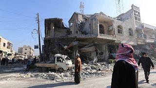 Szír-orosz előrenyomulás Idlibben