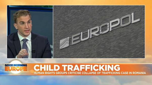 Accused child trafficking gang walk free from court in Romania
