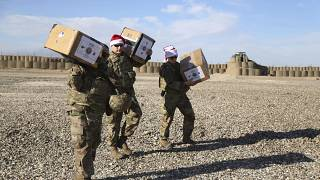 Special Christmas delivery for US troops in Syria