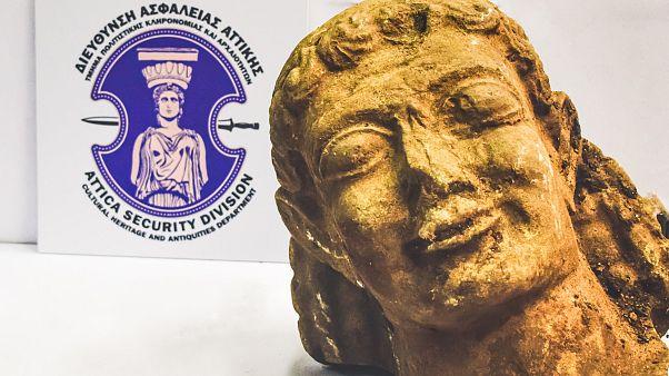 Βρέθηκε αρχαίος Κούρος πολύ μεγάλης αξίας στα χέρια αρχαιοκάπηλου