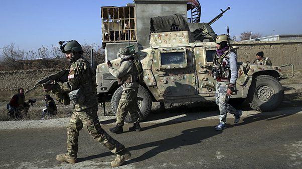 نیروهای امنیتی در افغانستان