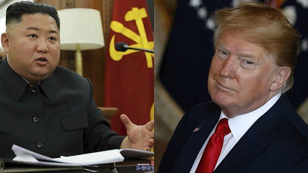 Kuzey Kore lideri Kim Jong Un / ABD Başkanı Donald Trump
