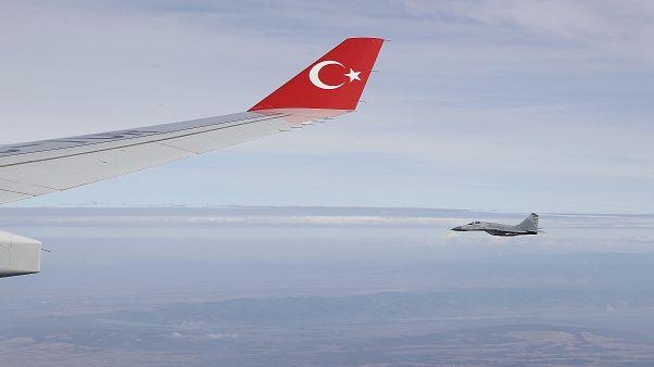 Πτήσεις τουρκικών μαχητικών αεροσκαφών πάνω από Ρω, Καστελόριζο και Στρογγύλη