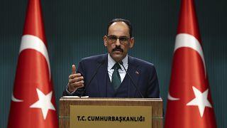 Cumhurbaşkanlığı Sözcüsü İbrahim Kalın, düzenlediği basın toplantısında açıklamalarda bulundu