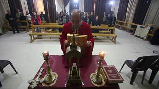Weihnachten in verlassenen syrischen Kirchen