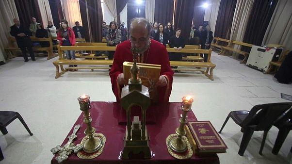 Un Noël teinté de tristesse pour les chrétiens de Syrie