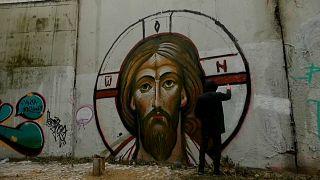 Un murale degli After Icon