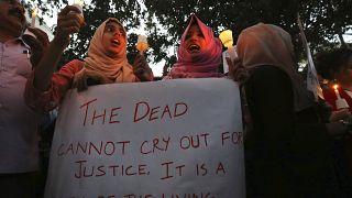 Hindistan vatandaşlık yasası protestosu