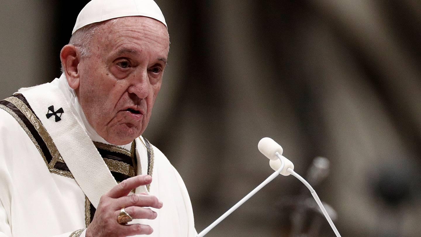 Pope Vatican Midnight Mass Christmas 2020 Streaming Pope says not to wait for Church 'to be perfect' at Vatican