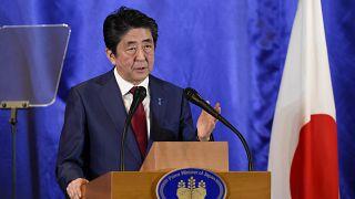 Japonya Başbakanı Abe Şinzo