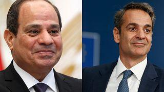 Επικοινωνία Μητσοτάκη-Αλ Σίσι για ανατολική Μεσόγειο και τετραμερή