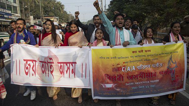 Индийские студенты — за право протестовать