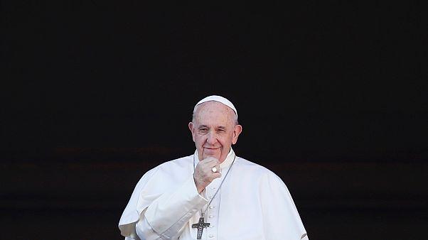 """بابا الفاتيكان فرنسيس في خطبة رسالة الميلاد """"المدينة والعالم"""". 25/12/2019"""