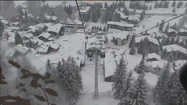 Свежий снег к Рождеству