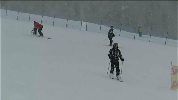 """Schnee in den Alpen: """"Endlich ein richtiger Winter"""""""