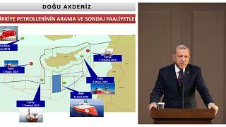 Με χάρτες και δηλώσεις η Τουρκία συντηρεί την ένταση στην Αν.Μεσόγειο