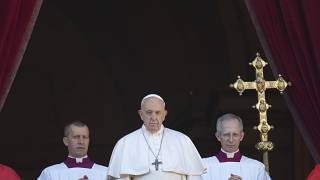Natale: guerre e migranti nel messaggio del Papa